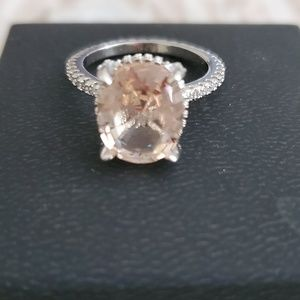 Jewelry - Oval cut citrine solitaire ring